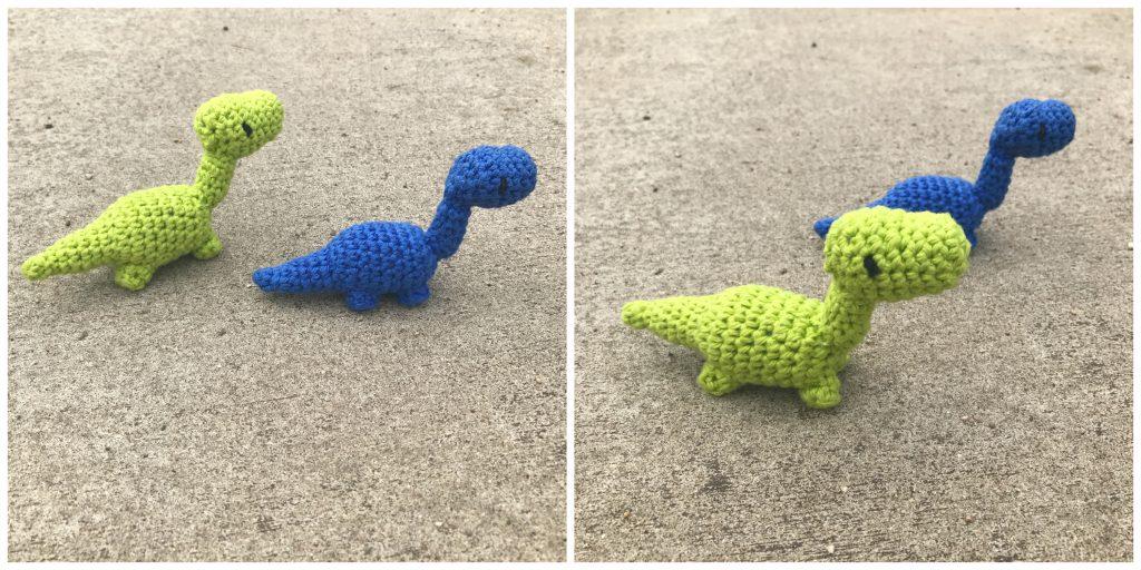 Tiny Dinosaur Amigurumi Free Pattern Green Fox Farms Designs