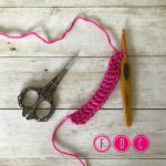 fdc - foundation double crochet - www.greenfoxfarmsdesigns.com