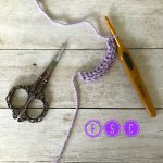 fsc - foundation single crochet - www.greenfoxfarmsdesigns.com