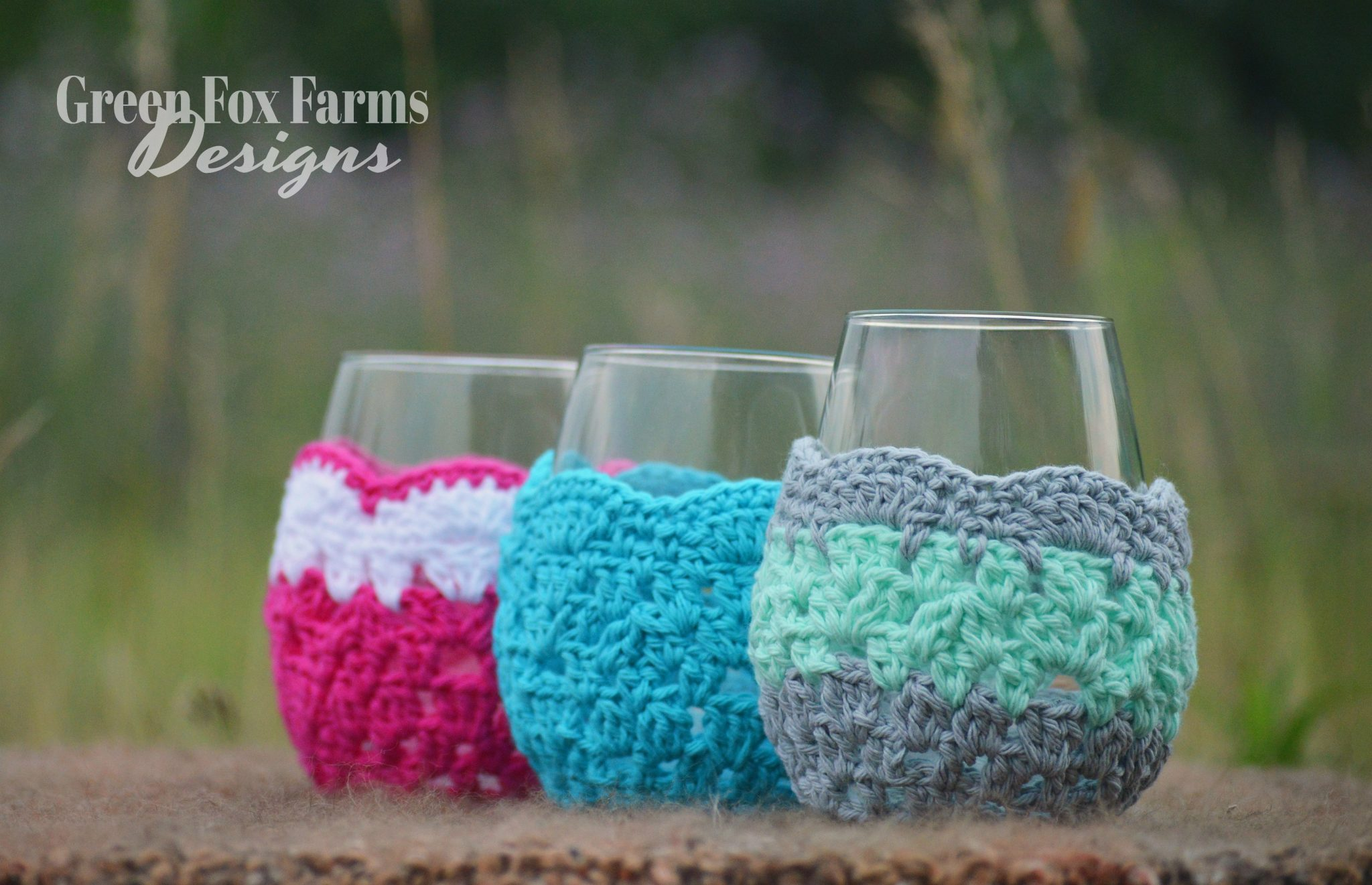 Wine Glass Cozy – Free Crochet Pattern