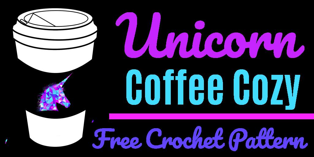 unicorn coffee cozy text