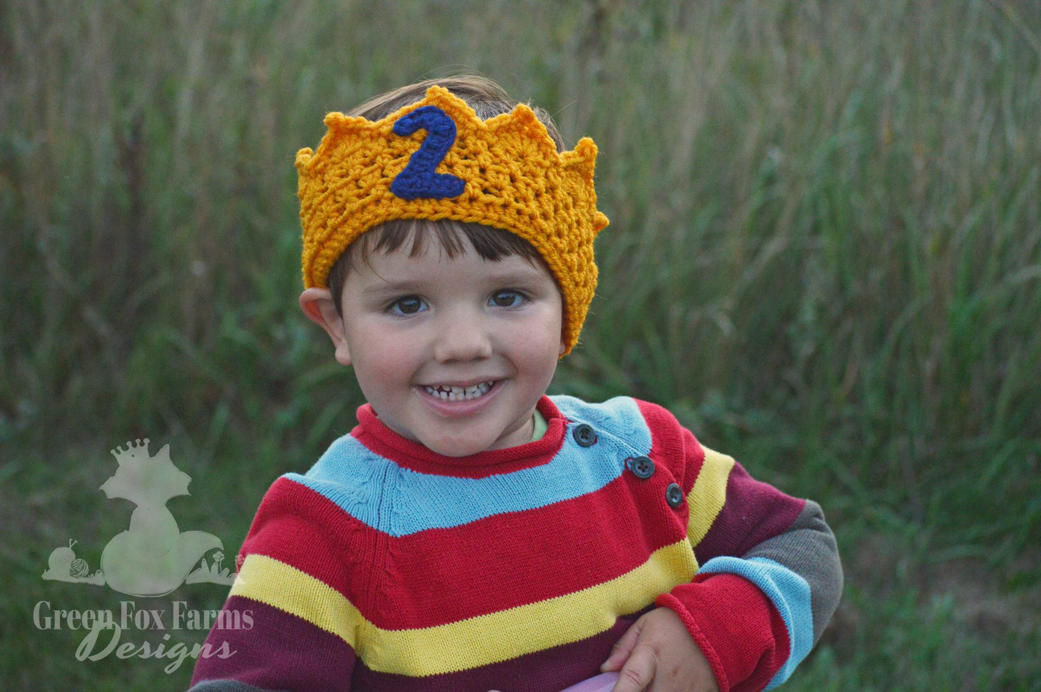 Crochet Birthday Crown – New Pattern Release