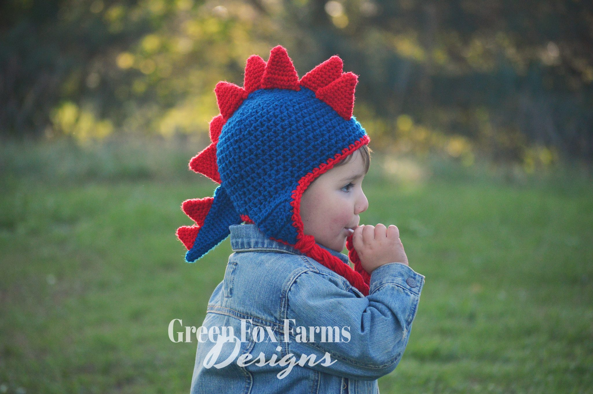 Dinosaur Hat – New Pattern Release and SALE!