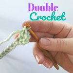 double crochet www.greenfoxfarmsdesigns.com