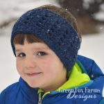 Crown Ear Warmer www.greenfoxfarmsdesigns.com