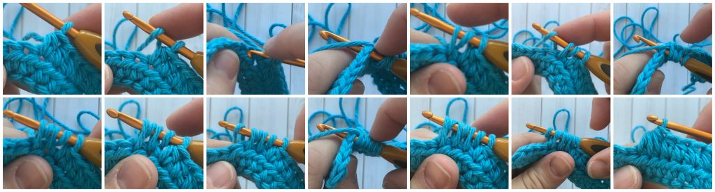 hdc3tog - crochet decrease stitches guide - www.greenfoxfarmsdesigns.com