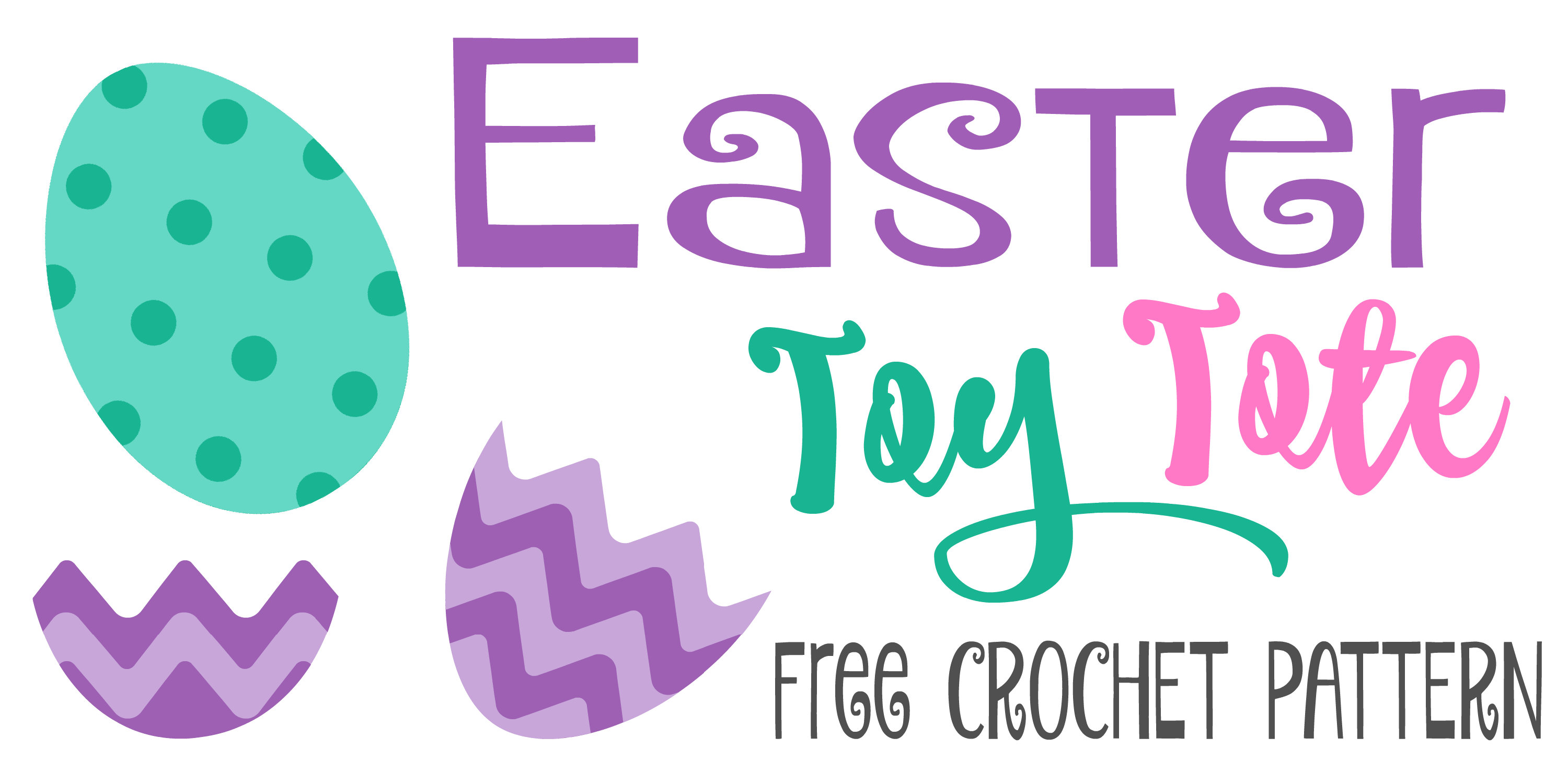 Easter Toy Tote - Free Crochet Pattern - www.greenfoxfarmsdsigns.com