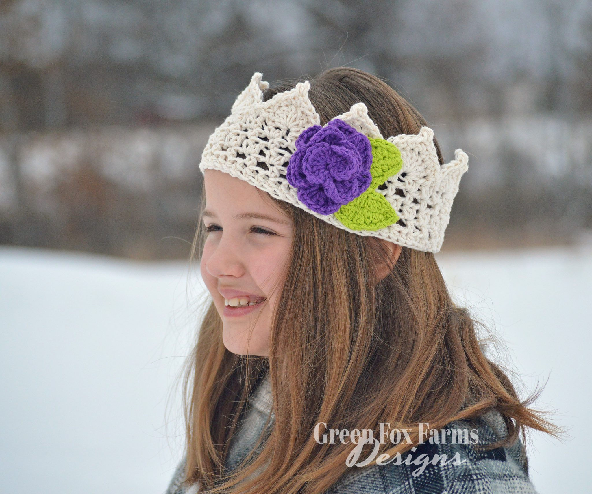 Flora Crown Crochet Pattern