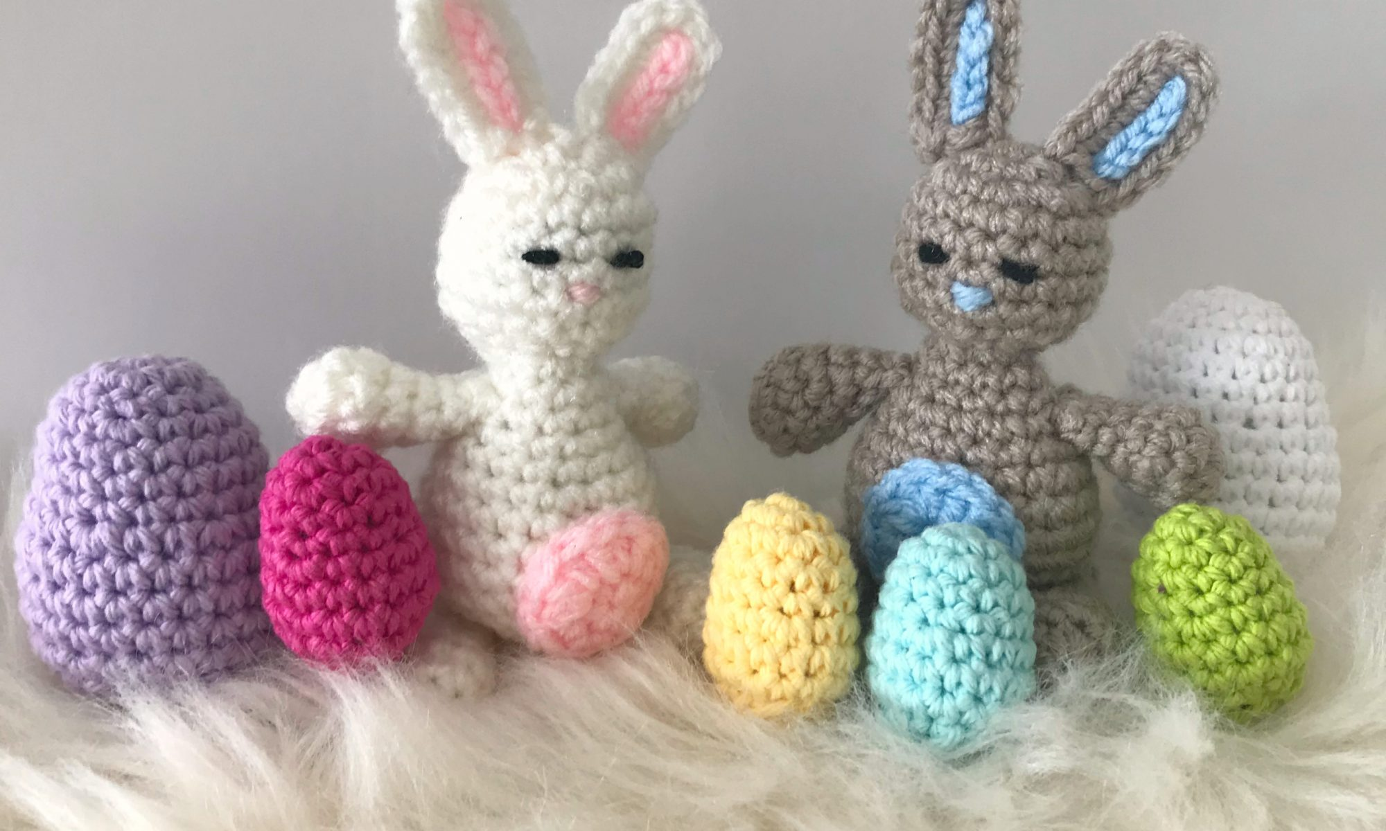 Tiny Bunny Amigurumi - Free Crochet Pattern • Green Fox Farms Designs