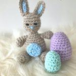 Tiny Bunny Crochet Pattern - Free Crochet Pattern - Amigurumi Bunny Pattern - Free Bunny Pattern - Easter Crochet Pattern - www.greenfoxfarmsdesigns.com