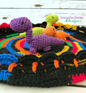 Easter Toy Tote - Free Crochet Pattern - www.GreenFoxFarmsDesigns.com