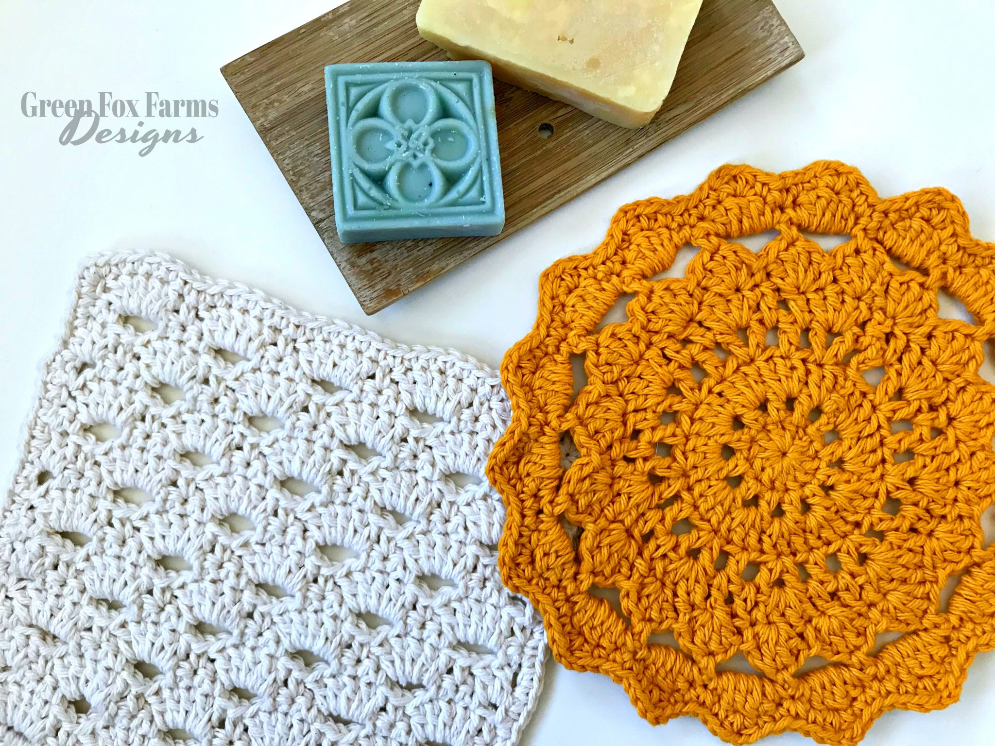 April Showers Dish Cloths – Free Crochet Pattern