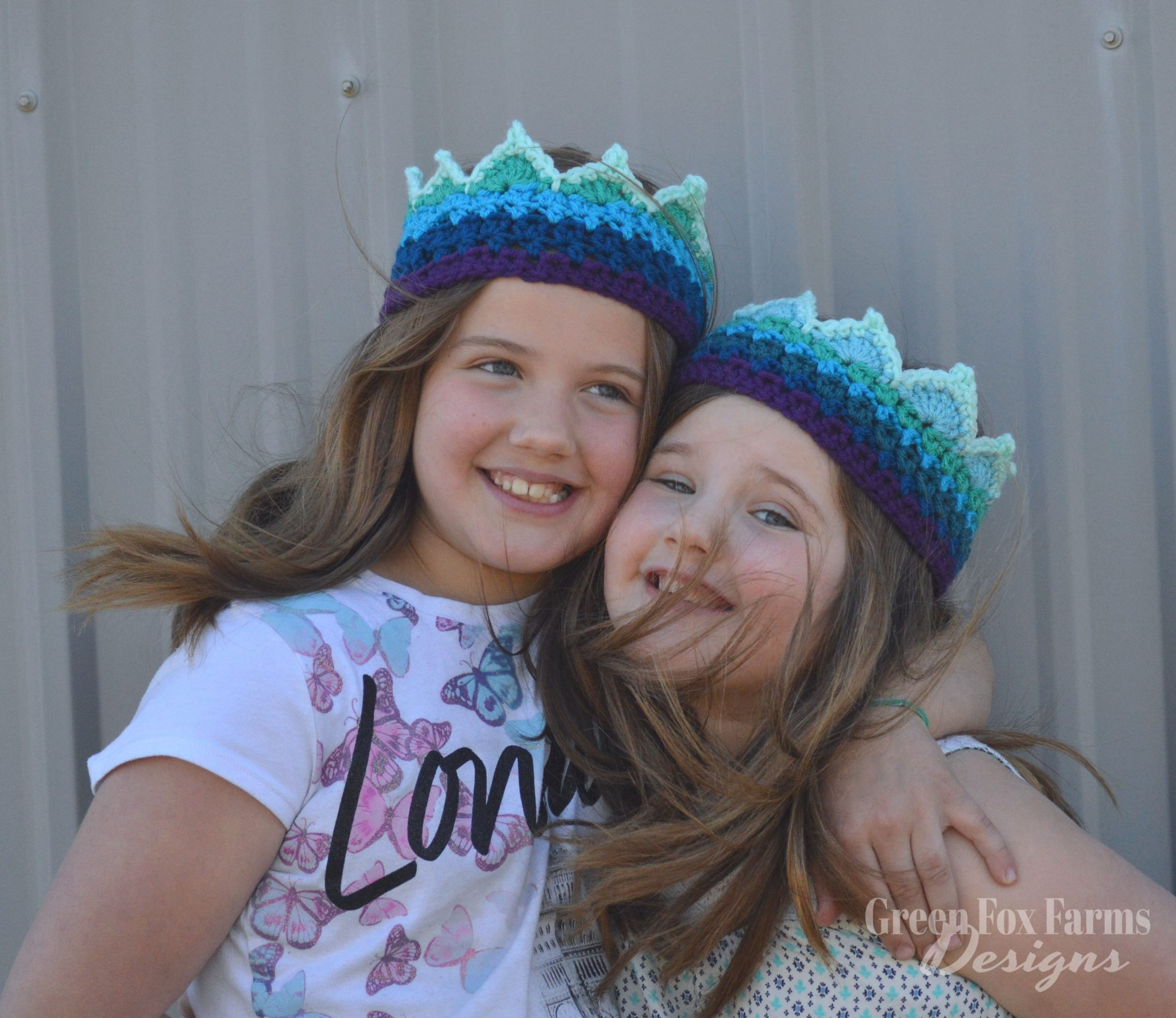 Rainbow Crown Crochet Pattern