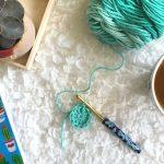 Magic Circle Tutorial - How to Crochet a Magic Circle - Single Crochet - Half Double Crochet - Double Crochet - Learn to Crochet a Magic Ring - Photo Tutorial - Video Tutorial - Crochet Tutorial - www.greenfoxfarmsdesigns.com