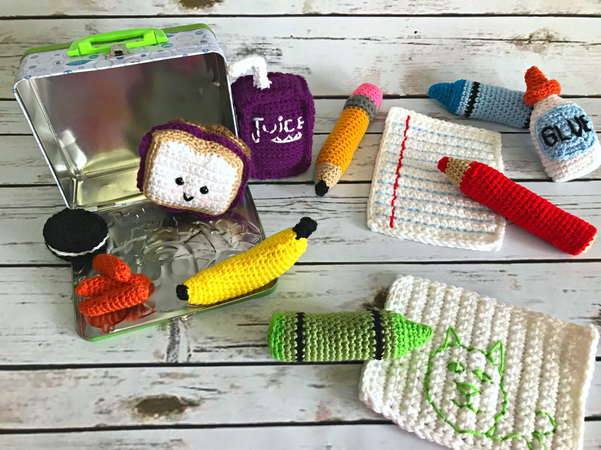 Back to School Amigurumis Pattern