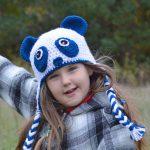 Panda Hat Pattern - Easy Crochet Pattern - Panda Bear Beanie - Ear Flap Hat Pattern - Fall Must Haves - Panda Bear - Winter Hat - Crochet Pattern - www.greenfoxfarmsdesigns.com