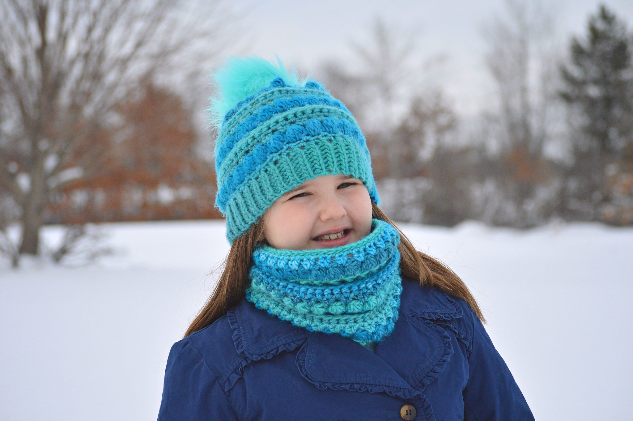 Colorscape Cowl and Beanie Crochet Patterns