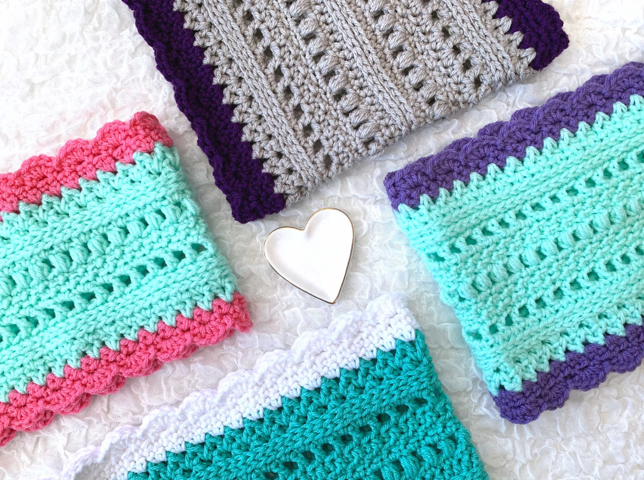 Infinite Spring Scarf Crochet Patterns