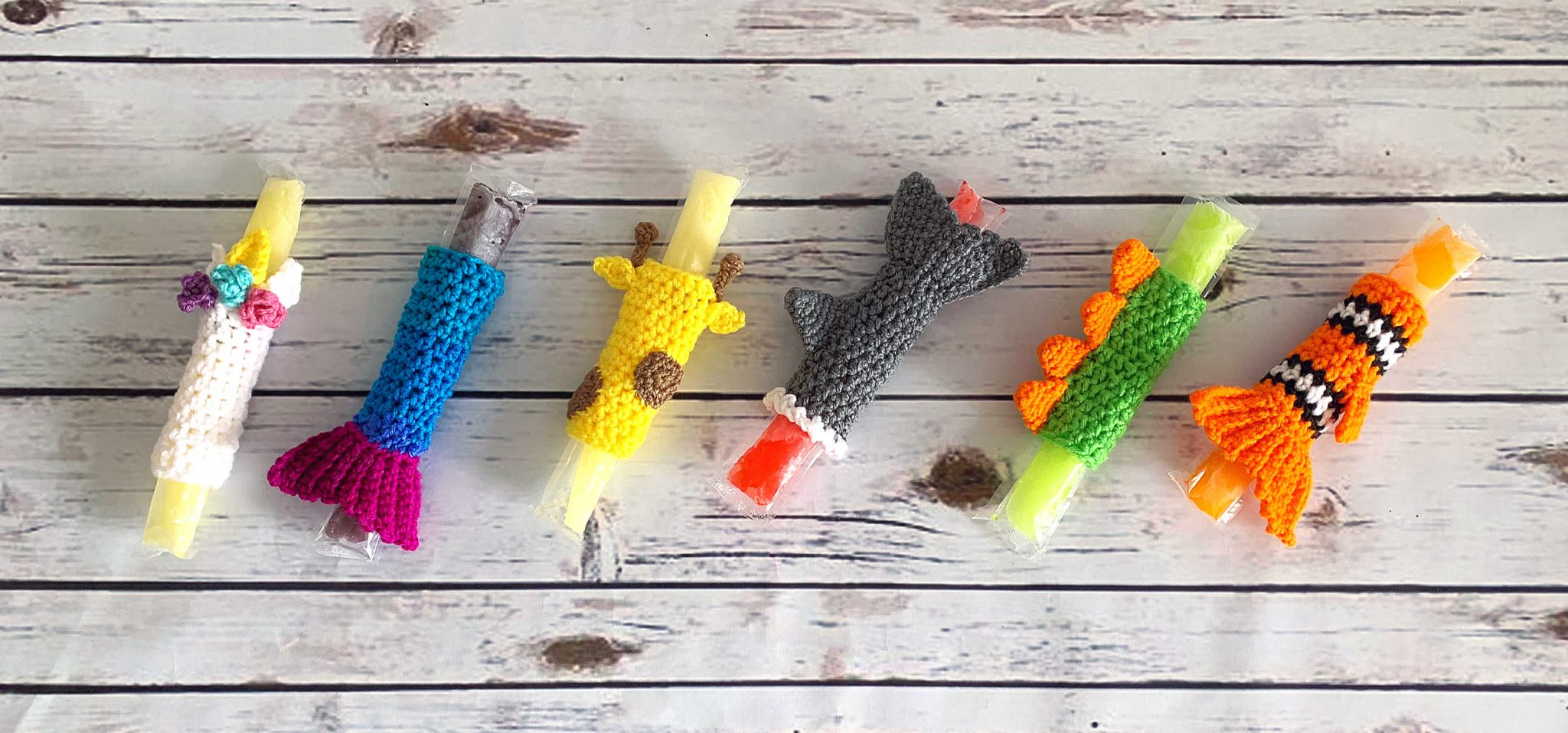 Freeze Pop Holder – Free Crochet Pattern