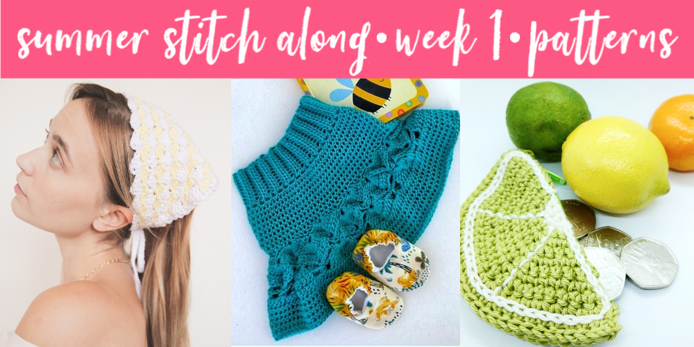Summer Stitch Along – Week 1