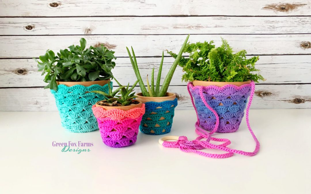 Sweet Stripes Plant Cozy Crochet Pattern