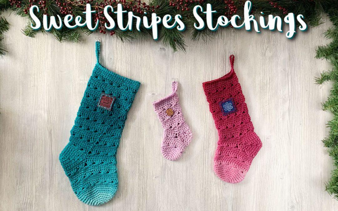 Sweet Stripes Stockings Pattern
