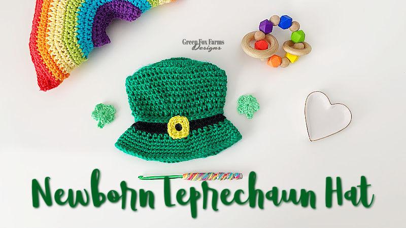 Newborn Leprechaun Hat