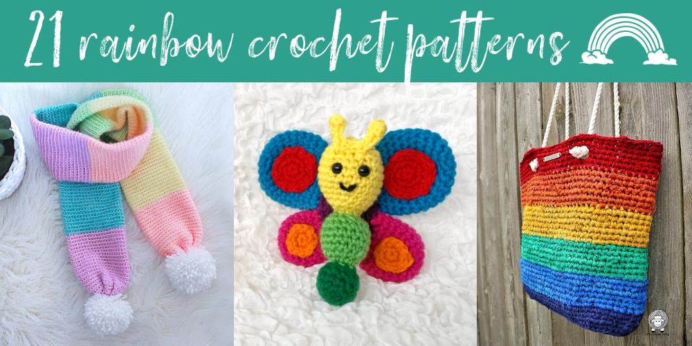 21 Fab Rainbow Crochet Patterns