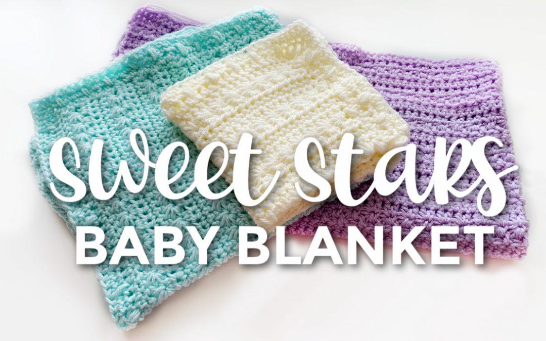 Sweet Stars Baby Blanket