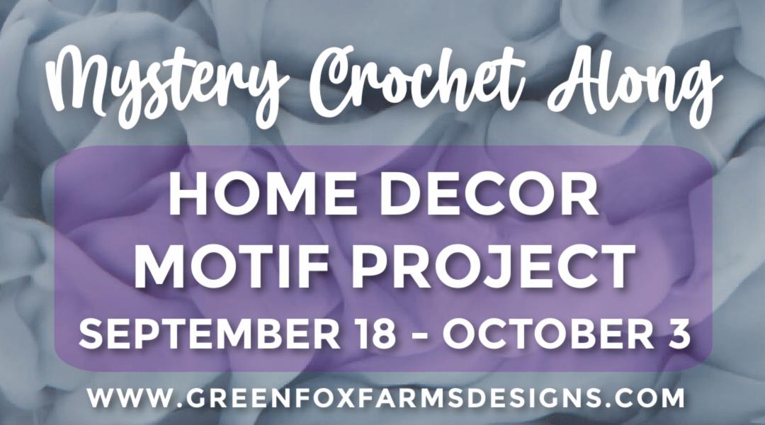 Mystery Motif Crochet Along