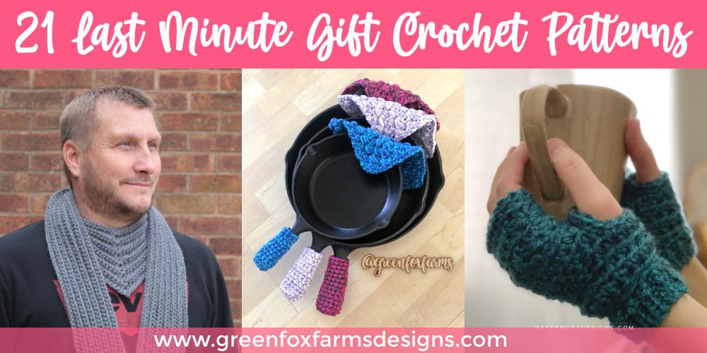 Quick Crochet Gift Ideas